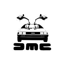 DeLorean DMC Photographic Print