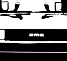 DeLorean DMC Sticker