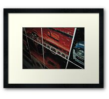 Dashboard Days Framed Print