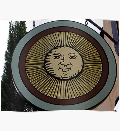 Sunny Sign Poster