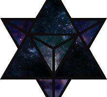 Cosmic Merkaba by Cleo Lant