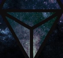 Cosmic Merkaba Sticker