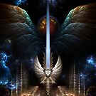 The Angel Wing Sword Of Arkledious Imperial Wings by xzendor7