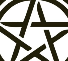 Anti Demon Possession Symbol Sticker