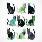 Nine Cats by James McKenzie