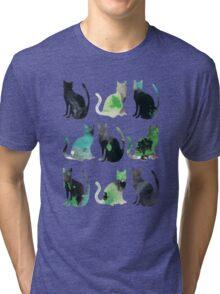 Nine Cats Tri-blend T-Shirt