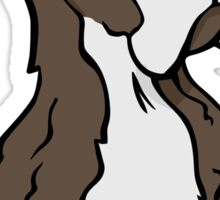 Spaniel cartoon dog Sticker