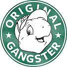 Franklin The Turtle - Starbucks Design by CongressTart