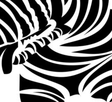 Zebra English Bull Terrier - ZEBTRA Sticker