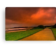 """Storm Path"" Canvas Print"