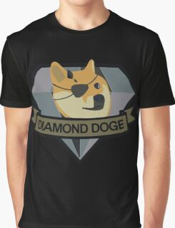 """Diamond Doge"" Graphic T-Shirt"