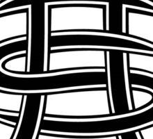 Heroes Del Silencio Logo Blanco Sticker