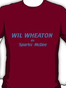 Wil Wheaton as Sparks McGee T-Shirt