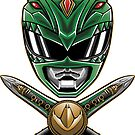 Dragonzord Power - Sticker by TrulyEpic