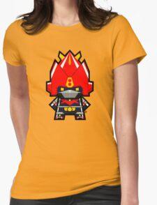 Mekkachibi Voltes V Womens Fitted T-Shirt