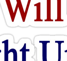 Frenchmen Will Fight Until The End  Sticker
