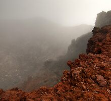 The Red Crater, Mt Ngauruhoe by Michael Treloar