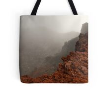 The Red Crater, Mt Ngauruhoe Tote Bag
