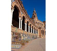 Spain square,Sevilla Photographic Print