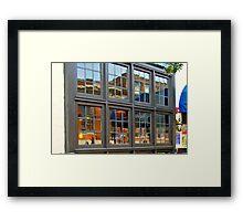 Real Estate Reflections Framed Print