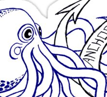 Anchor Town Octopus Sticker! Sticker