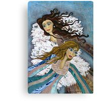 Angels Watching Us Canvas Print