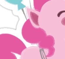 Baby My Little Ponies Pinkie Pie Sticker