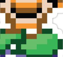 Luigi (16-bit) Sticker
