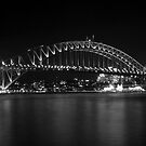bridge in black and white by Husher