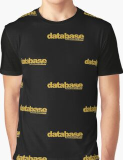 database administrator Graphic T-Shirt