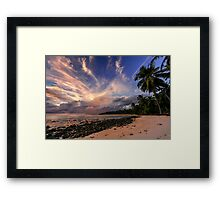 Tongues of Fire Framed Print