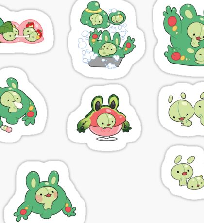 Itty Reuniclus, Duosion and Solosis Sticker