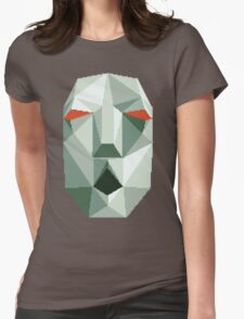Andross - Pixel Glitch Womens Fitted T-Shirt