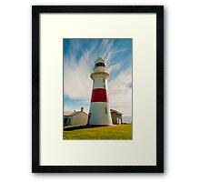 Low Head Light, Tasmania Framed Print