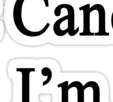 I Laugh At Cancer I'm A Violinist  Sticker