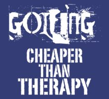 Golfing, Cheaper Than Therapy by veerkun