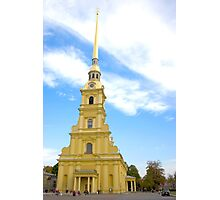 Peter & Paul Fortress Photographic Print