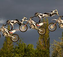 Composite of freestyle motocross 'superman' jump by BeardyGit