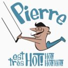 Pierre est tres HOT! cartoon drawing of daring Frenchman with handsome mustache by DiabolickalPLAN