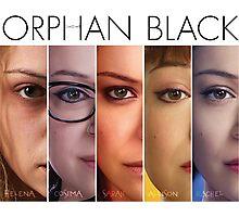 Orphan black (w/ title) Photographic Print