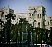 Government House, Baku, Azerbaijan by Lisa Hafey