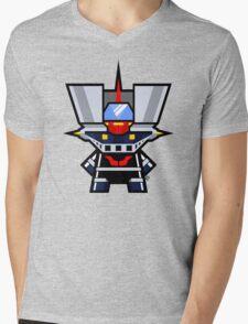 Mekkachibi Mazinger Z Mens V-Neck T-Shirt