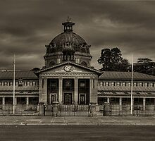 Colonial Elegance - Sepia (45 Exposure HDR Panorama) - Bathurst Court House c1880, Bathurst, NSW Australia - The HDR Experience by Philip Johnson