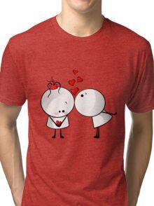 Kiss me Tri-blend T-Shirt