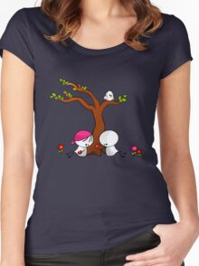 Lovely Spring Women's Fitted Scoop T-Shirt