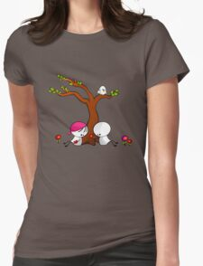 Lovely Spring Womens Fitted T-Shirt