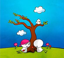 Lovely Spring by Media Jamshidi