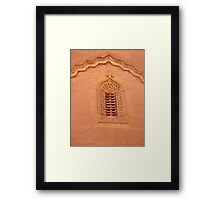 The Post Office Window Framed Print