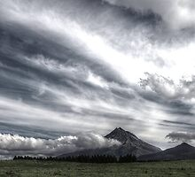 Moody Mountain by Laurence Norah