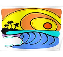 Tropical Wave Poster